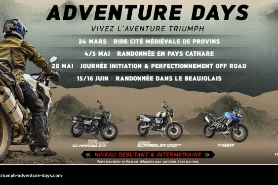 Triumph Adventure Days